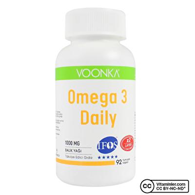 Voonka Omega 3 Daily 92 Kapsül