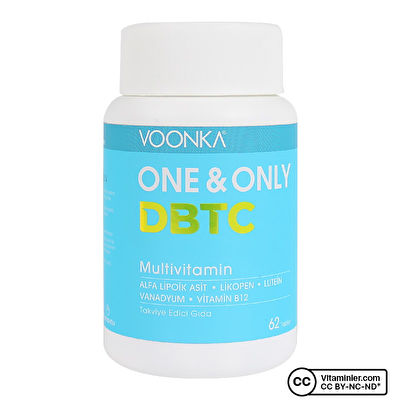 Voonka One And Only DBTC Multivitamin 62 Tablet