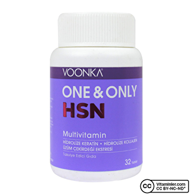 Voonka One Only HSN Multivitamin 32 Tablet