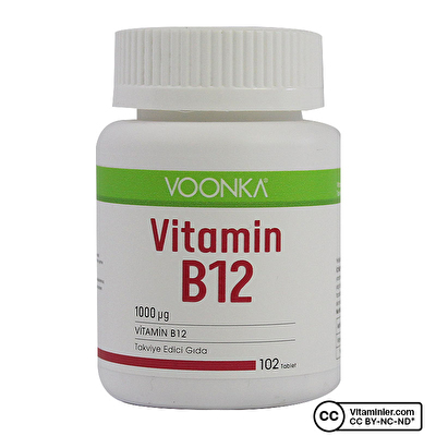 Voonka Vitamin B12 102 Tablet