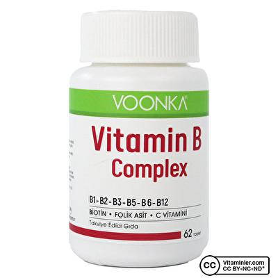 Voonka Vitamin B Complex 62 Tablet