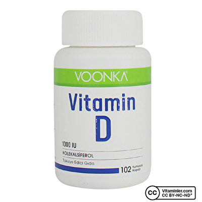 Voonka Vitamin D 102 Kapsül