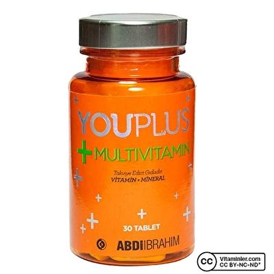 YouPlus Multivitamin 30 Tablet