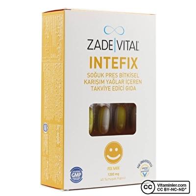 Zade Vital Intefix 1200 Mg 40 Kapsül