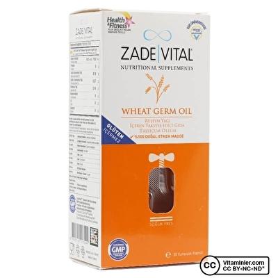 Zade Vital Ruşeym Yağı 500 mg 30 Kapsül